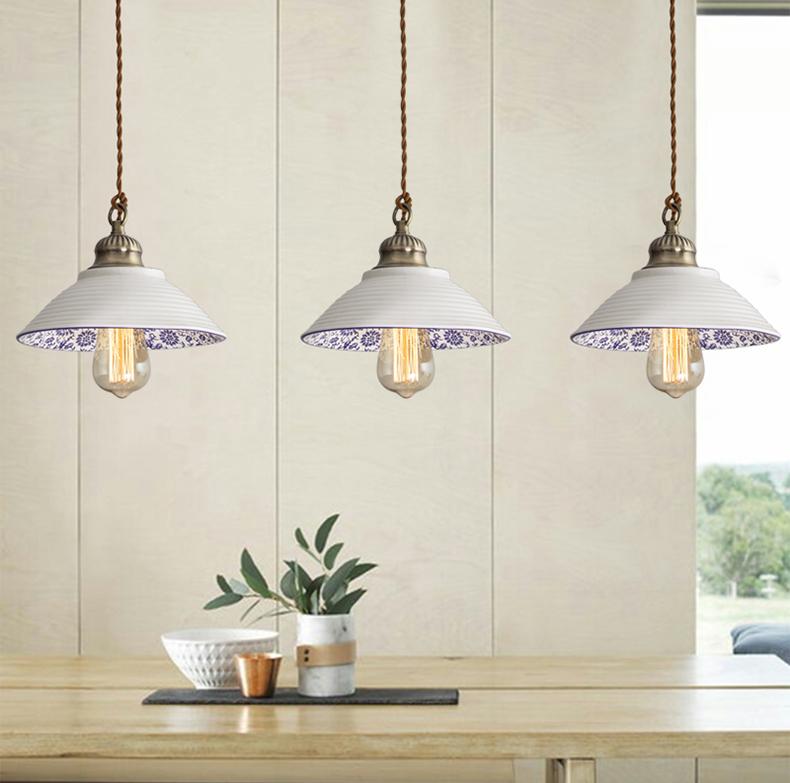 Portia Ceramic Drop Light