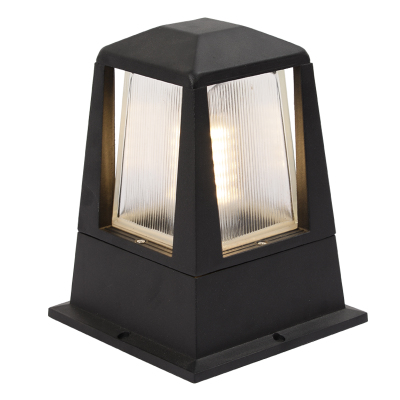 Pm 09 outdoor post mounted light lumina concepts for Outdoor lighting concepts